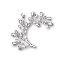 sale - poppystamps twisted oak branch 1753