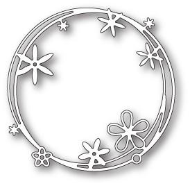 Scribble Flower Circle (1801)