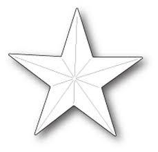 sale - poppystamps fold star 1883