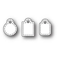 sale - poppystamps stitched market tags 1912