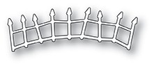 Poppystamps Crooked Fence craft die 1945
