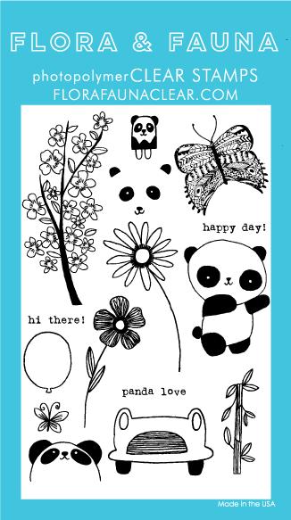 Flora and Fauna Panda Set 20170