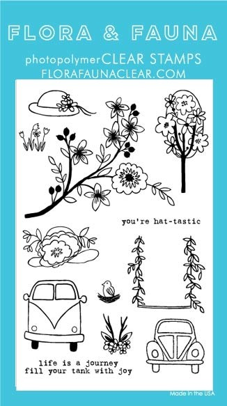 Flora and Fauna Hat-tastic Car Set 20182