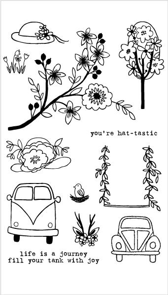 Flora and Fauna Hat-tastic Car Set 20182