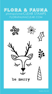 Flora and Fauna Mini Reindeer Love 20209