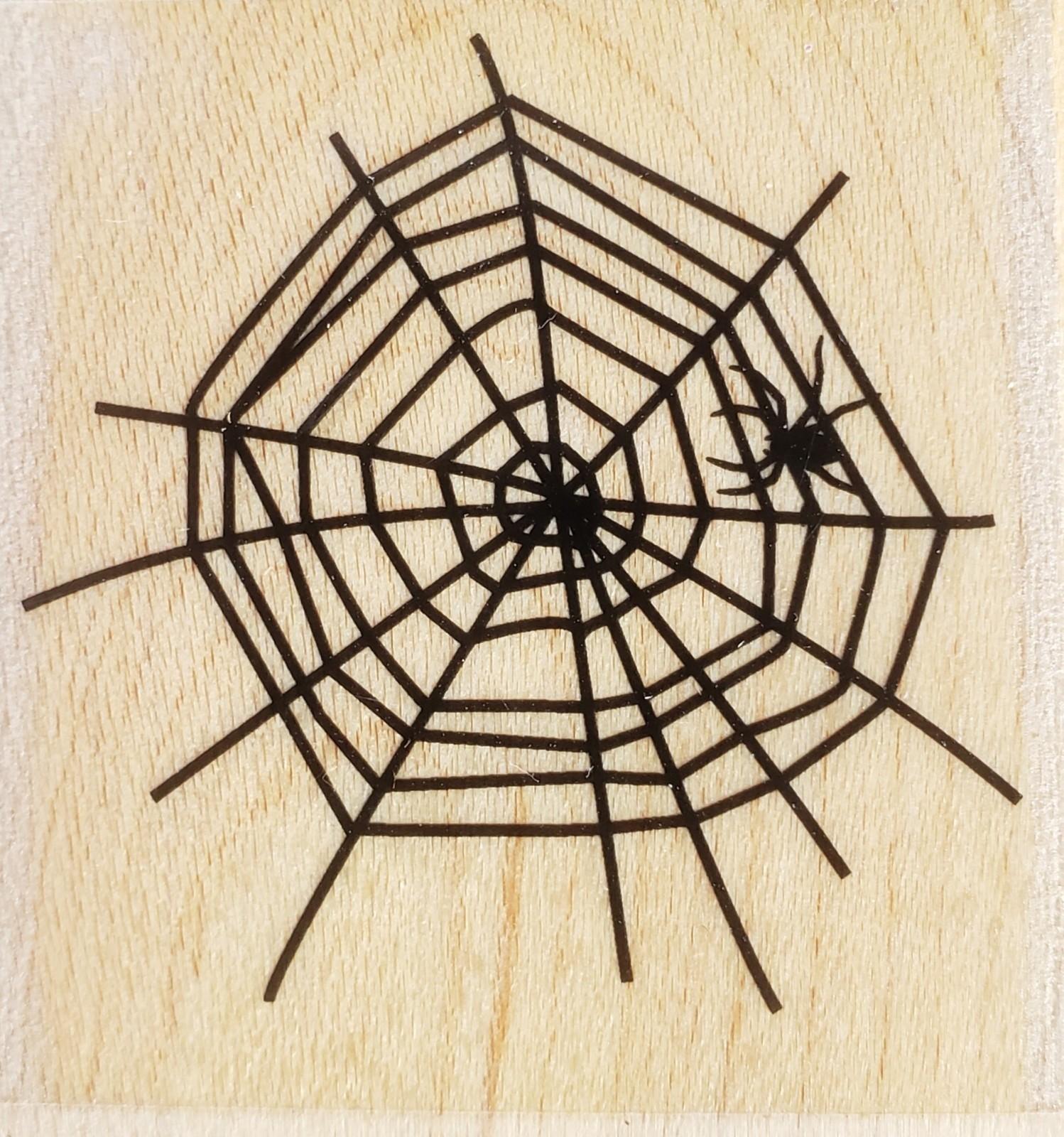 Hero Arts Spider In Web D6004