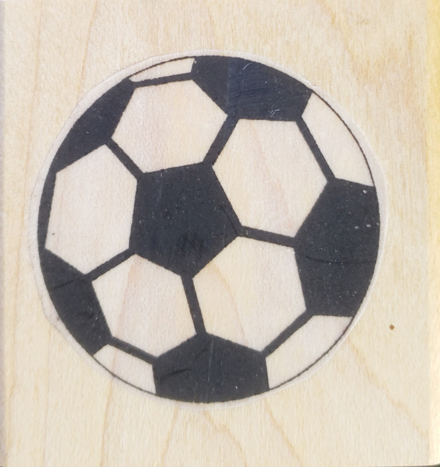 Soccer Ball stamp