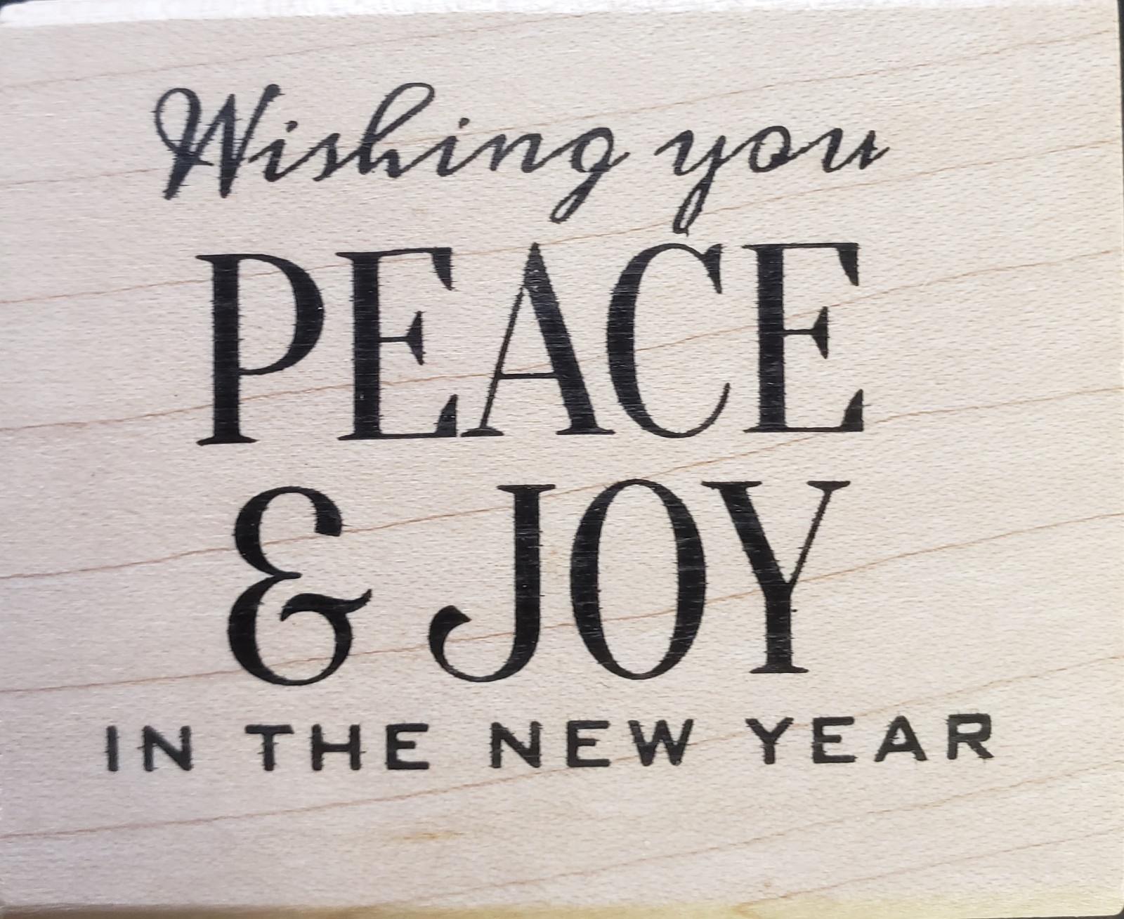Stampers Anonymous peace and joy J1-3248