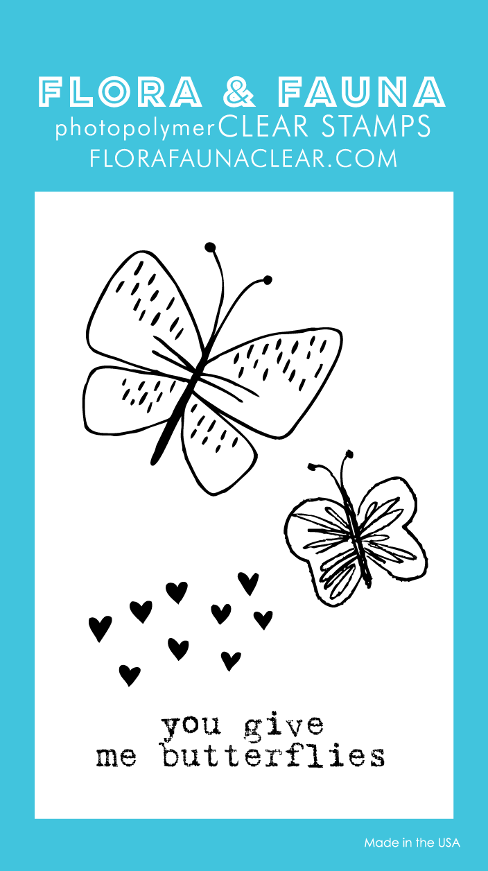 Flora and Fauna Mini You Give Me Butterflies 20219