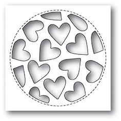 Tumbled Heart Collage die 2023