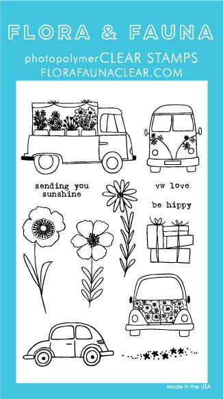 Flora and Fauna Car Garden Stamps 20230