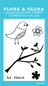 Flora and Fauna Mini Aviary Blossom Stamps 20241