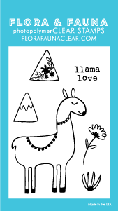 Flora and Fauna Mini Llama Love 20245