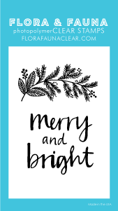 Flora and Fauna Mini Merry and Bright Set 20272