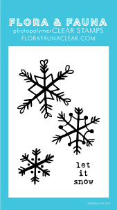 Flora and Fauna Mini Snowflakes Set 20273