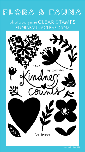 Flora and Fauna Kindness Counts Stamp Set 20348