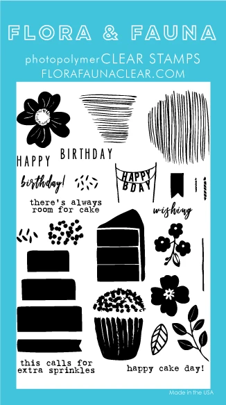 Flora and Fauna Floral Birthday Set 20363