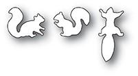 Poppy Stamps Busy Squirrel Trio Die 2075