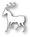 Poppy Stamps Dashing Reindeer Die 2078