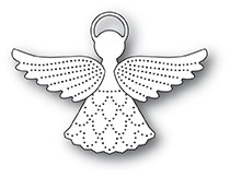 Poppy Stamps Pinpoint Angel Die 2082
