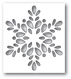Poppy Stamps Seed Snowflake Collage Die 2094