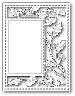 Poppy Stamps Holly Vine Sidekick Frame Die 2099