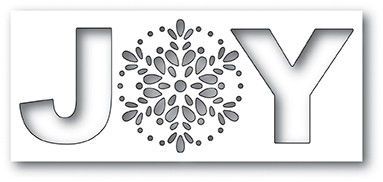 Poppy Stamps Seed Snowflake Joy DIe 2100