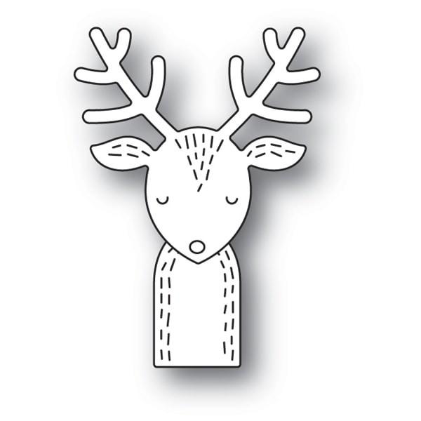 Poppy Stamps Whittle Rudolph craft die 2118