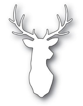 sale - Poppy Stamps Forest Stag 2131