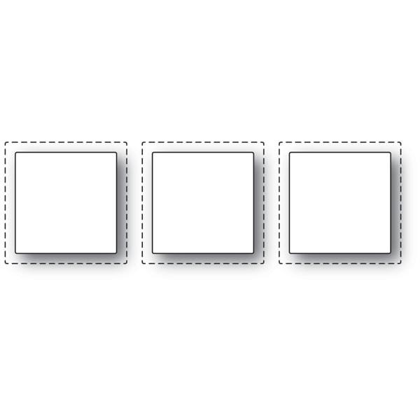 Poppy Stamps Triple Stitch Window craft die 2133