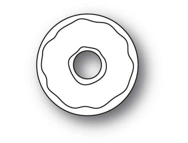 Poppy Stamps Little Donut 2155