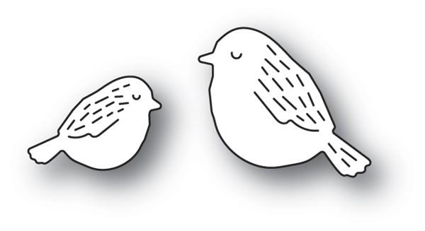Poppy Stamps Whittle Birds 2190