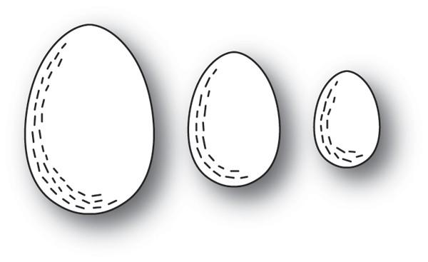 Poppy Stamps Whittle Eggs 2199