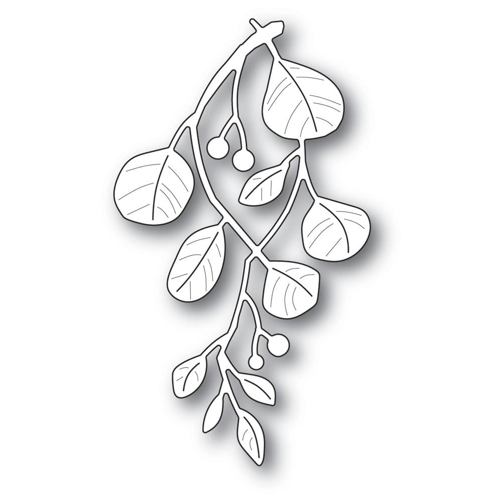 Poppystamps Holiday Mistletoe 2233