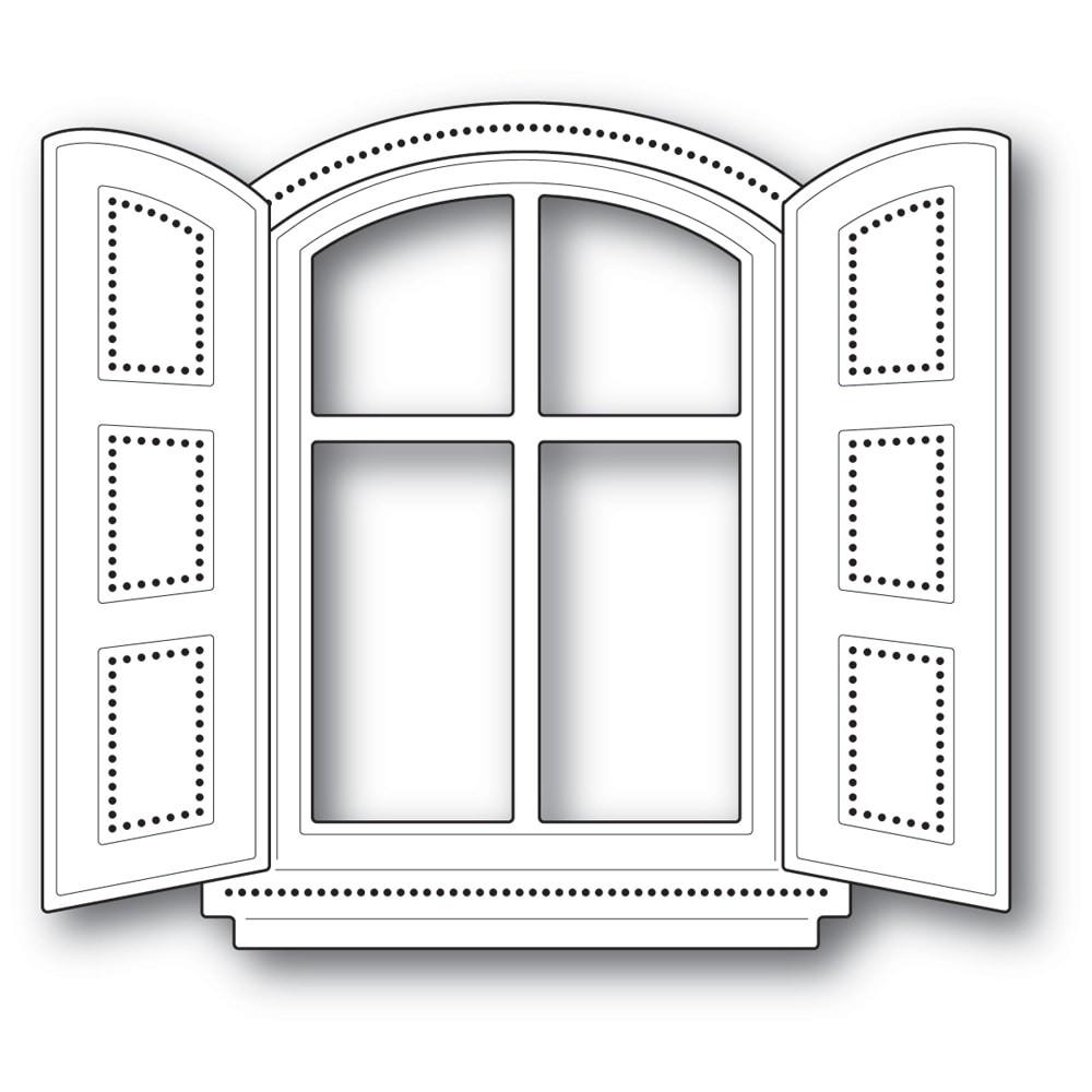 Poppystamps Cottage Window Die 2238