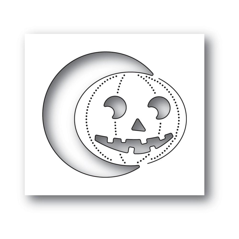 Poppystamps Smiling Jack o Lantern 2239