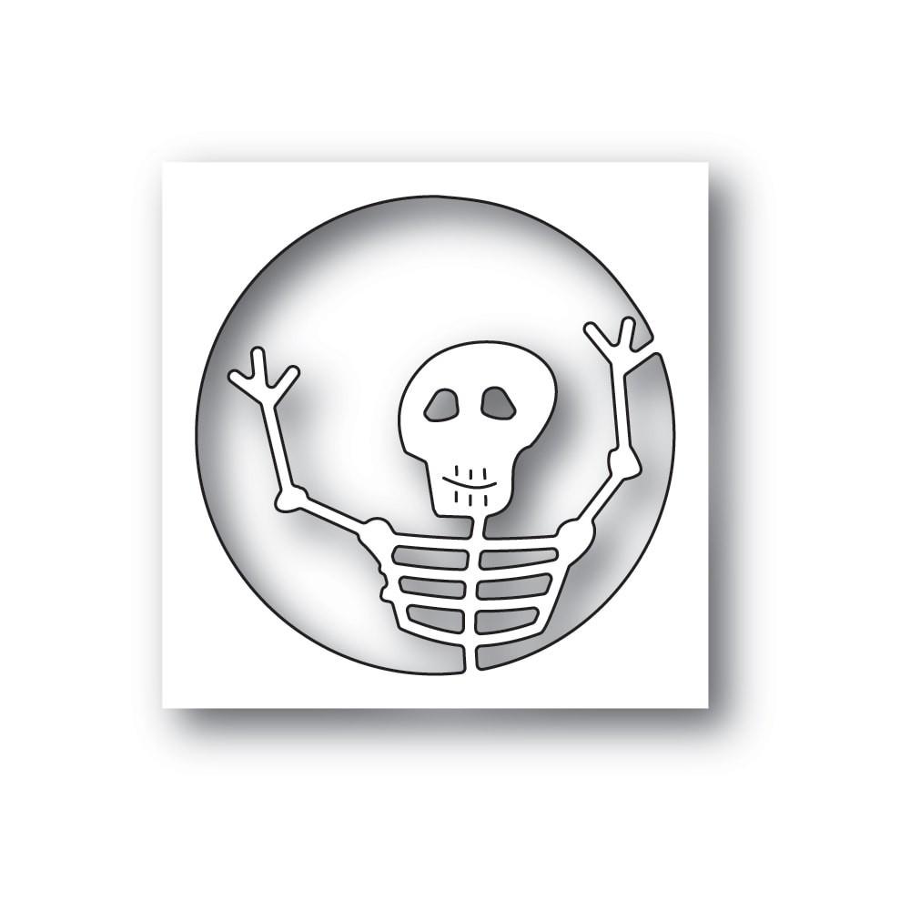 Poppystamps Surprise Skeleton 2241