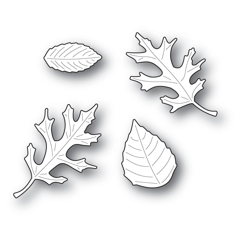 Poppystamps Autumn Leaf Set 2248