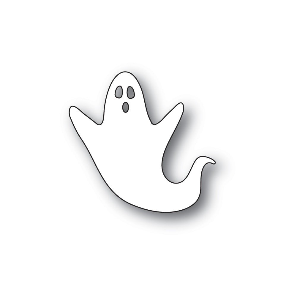 SALE -  Poppystamps Scary Ghost Die 2249