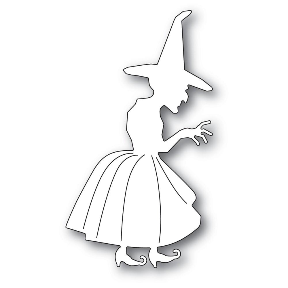 Poppystamps Spellcaster Witch 2250