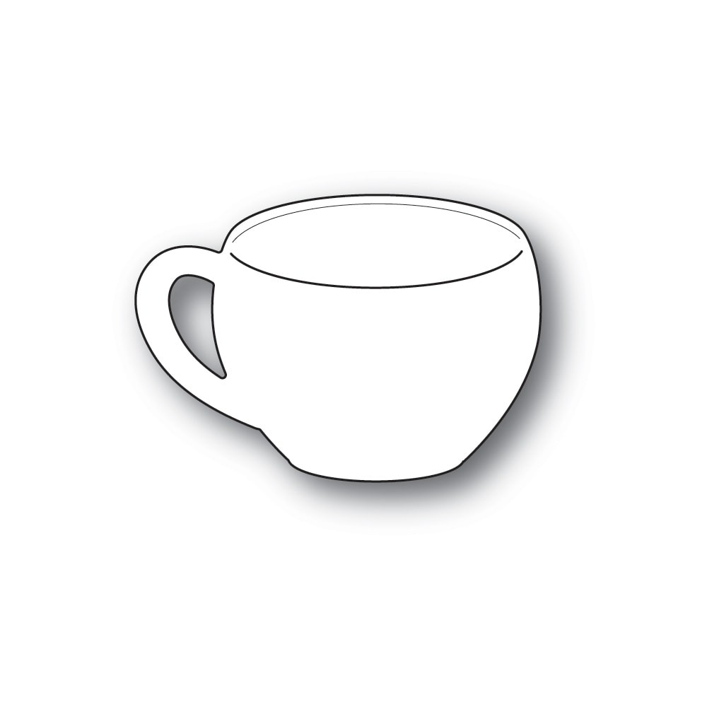 Poppystamps Classic Coffee Cup 2257