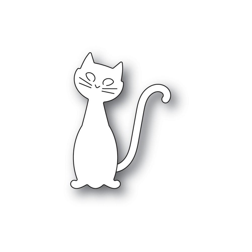 Poppystamps Friendly Cat craft die 2260