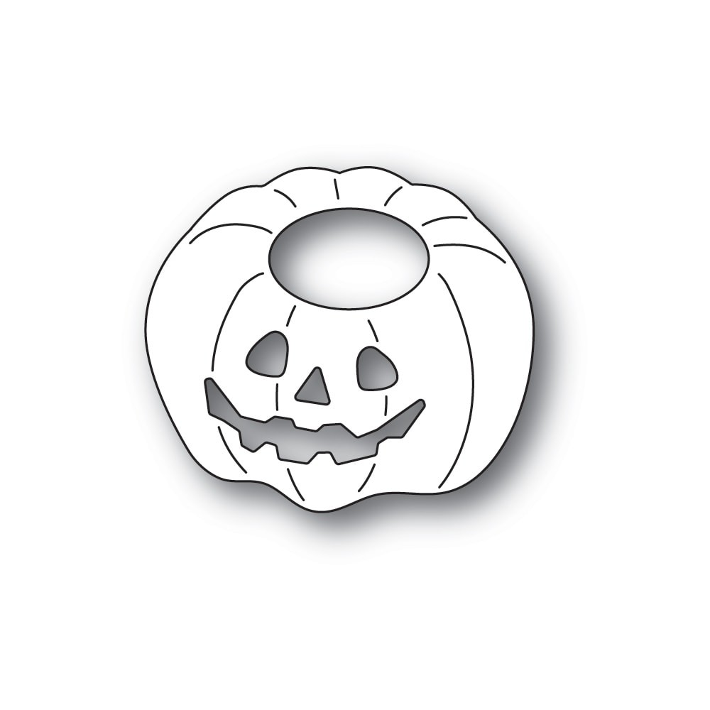 Poppystamps Happy Jack o Lantern craft die 2261