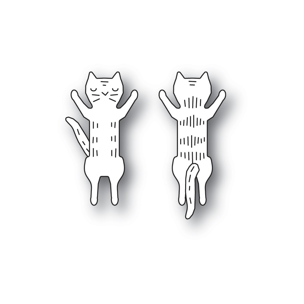 Poppystamps Whittle Jumping Kitty 2281