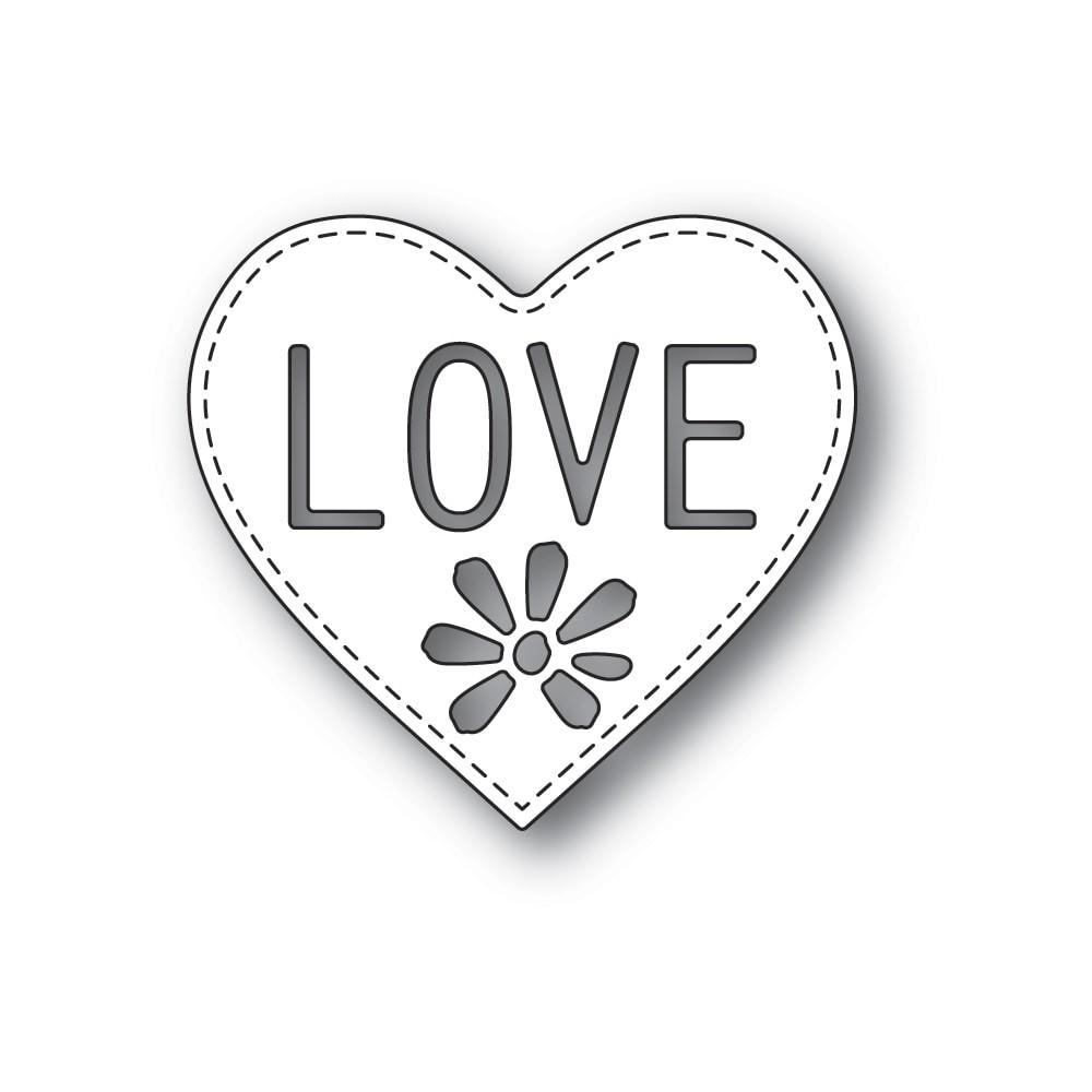 Poppystamps Love Heart 2295