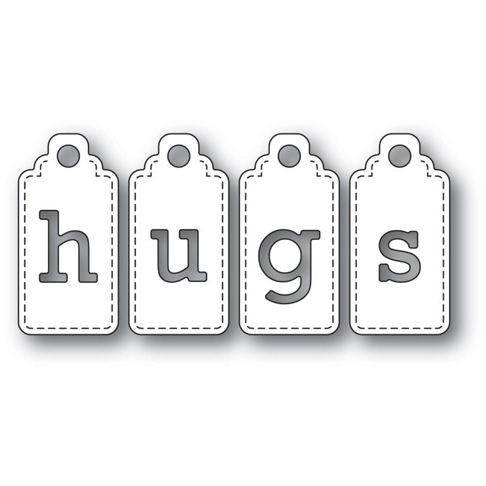 Poppystamps Hugs Tags 2312