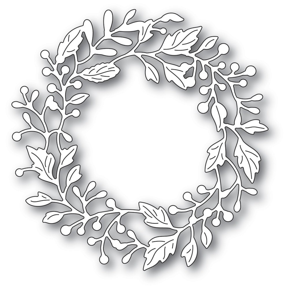 Poppystamps Adriana Wreath 2320