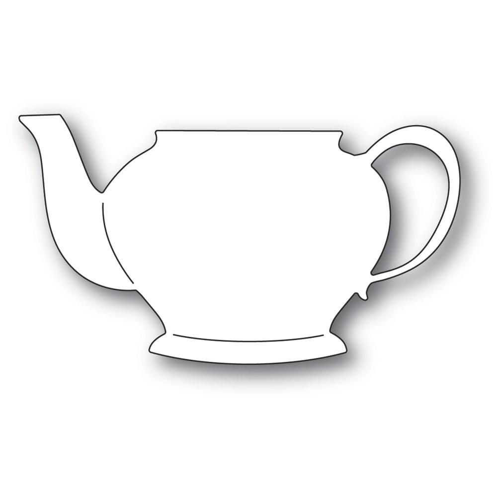Poppystamps Grandma's Teapot 2340