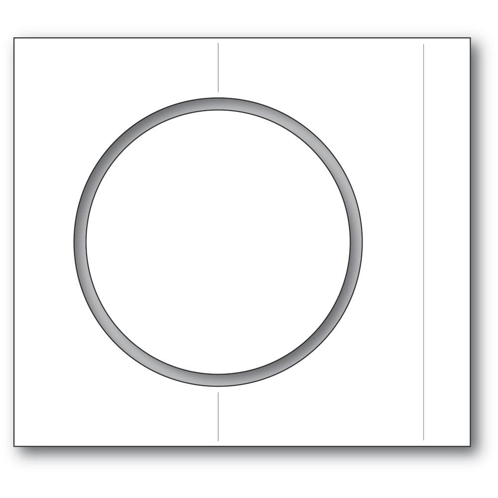 Poppystamps Circle Fold Frame 2348