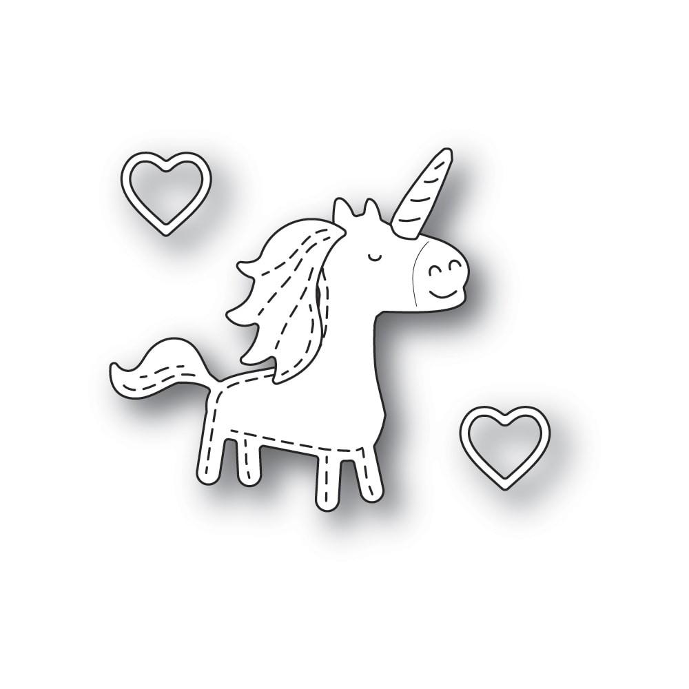 Poppystamps Whittle Unicorn 2370